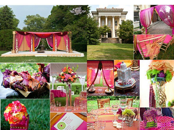 Outdoor Indian Wedding Decor