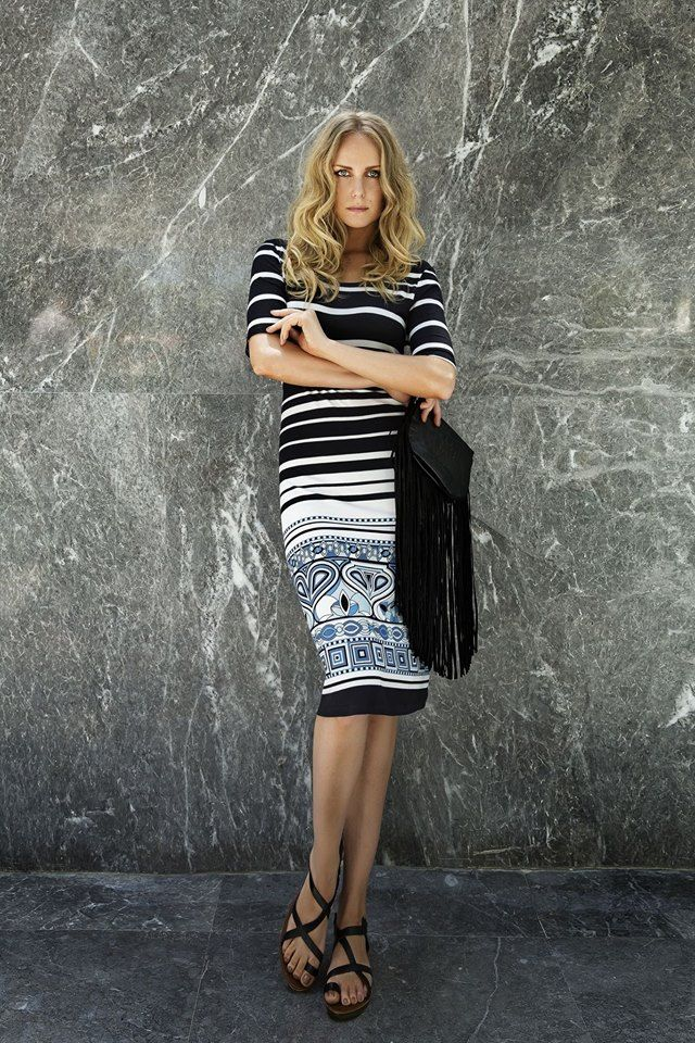 """Stormy eyes and a marble beauty. Find """"Aegean"""" fabulous dress here: http://www.vampfashion.com/index.php/collections/21-beachwear #vampfashion #beachwear"""