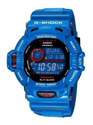 Blue G-Shock Watch for Men I like these types of G Shcok Watches, they are so neat.