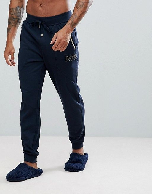 ea1c924c4 BOSS By Hugo Boss Tracksuit Joggers with Cuffed Ankle in Regular Fit