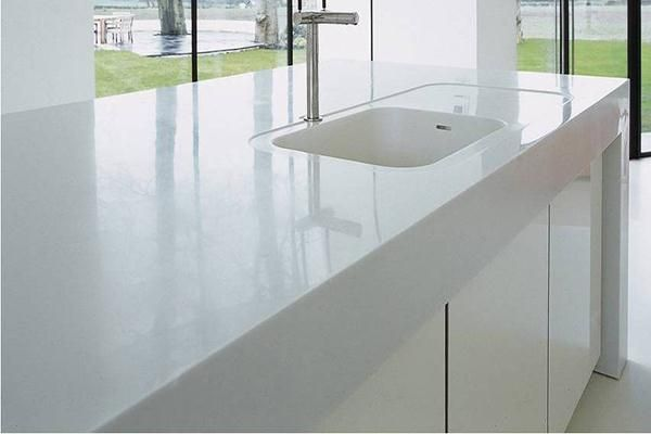 Corian Countertop Sink Options : ... Solid surface countertops, Kitchen countertop options and Kitchen