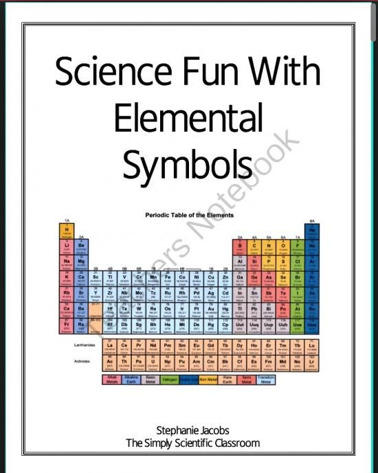194 best Chemistry Lesson Plan Ideas images on Pinterest School - new periodic table chloride symbol