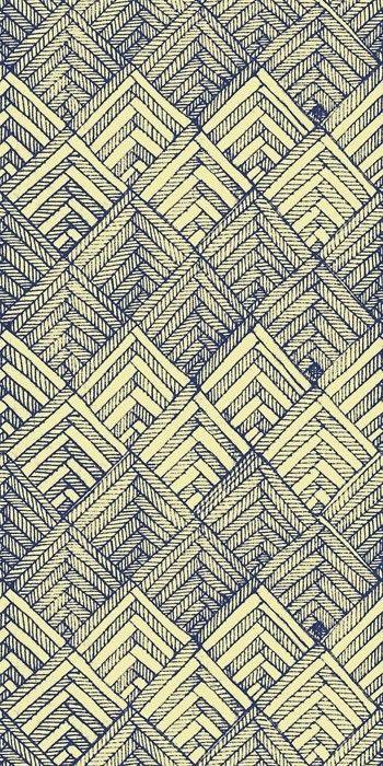 Abstrait.  blue sketch