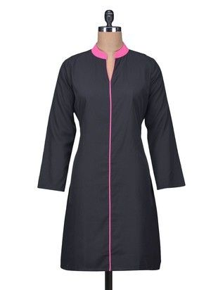 Check out what I found on the LimeRoad Shopping App! You'll love the Black Crepe Plain Kurta just as much as I did. Click here to see it http://www.limeroad.com/products/1246919?utm_source=android