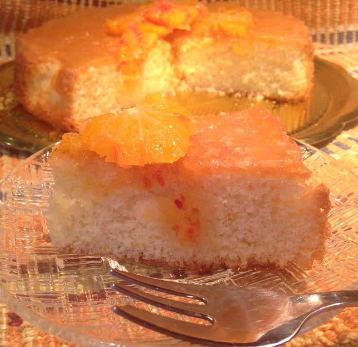 Cake muffin orange