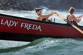"""""""Gig racing, Lady Freda"""""""