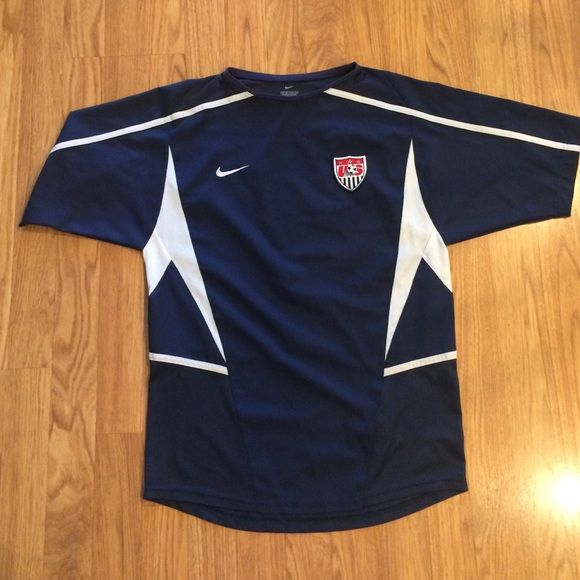 Nike US soccer size small Nike soccer us soccer size xsmall. Good used condition Nike Tops