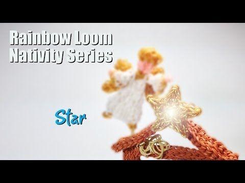 Rainbow Loom Nativity Series: The Star of Bethlehem Designed by PG David at PG's Loomacy. You Tube.