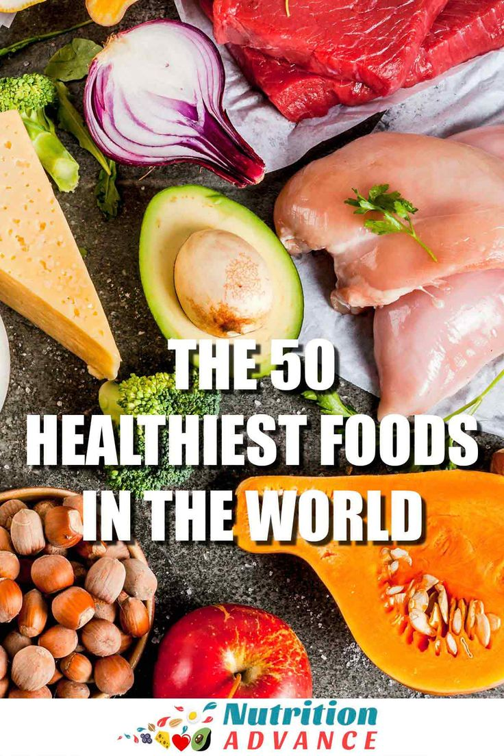 The 50 Healthiest Foods in the World | What is the…Edit description
