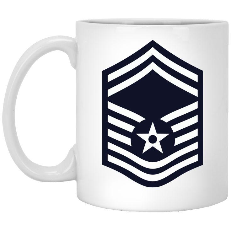 Air Force Senior Master Sergeant Rank -01 11 oz. Mug