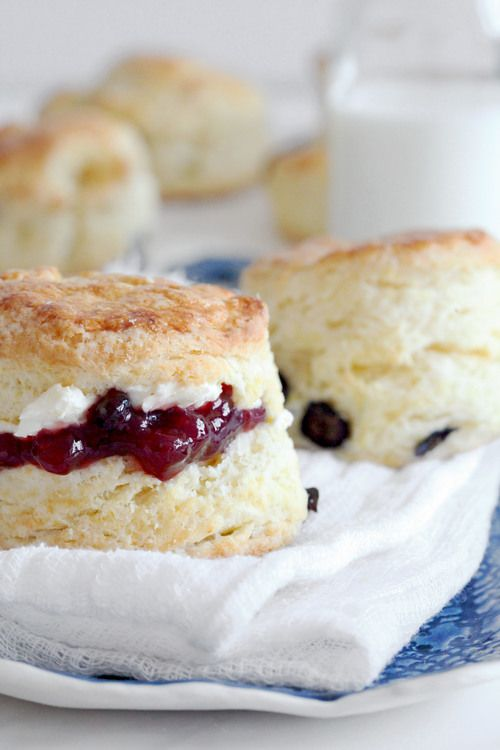 Blueberry Meyer Lemon Scones Recipes — Dishmaps
