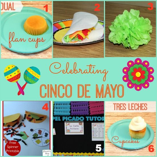Celebrating Cinco de Mayo in #preschool and #kindergarten