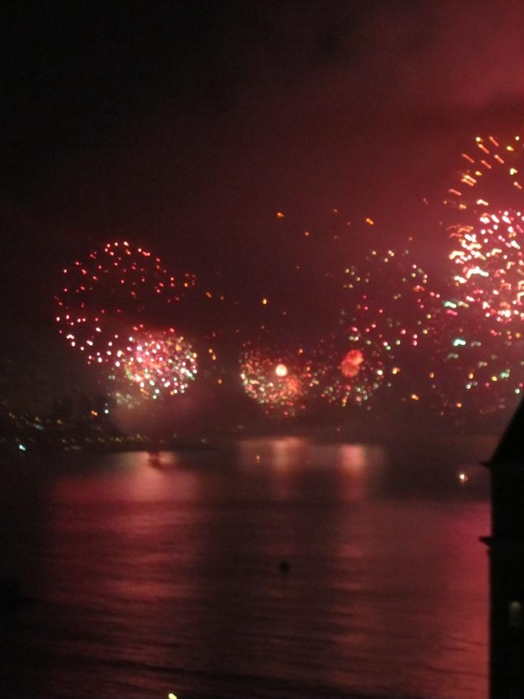 Año Nuevo en Viña del Mar, Chile. / New year in Viña del Mar