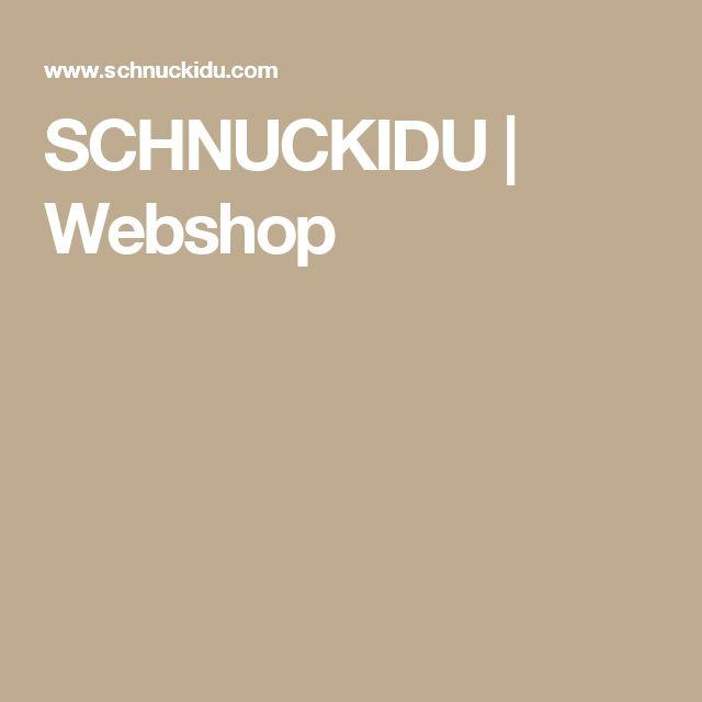 SCHNUCKIDU | Webshop