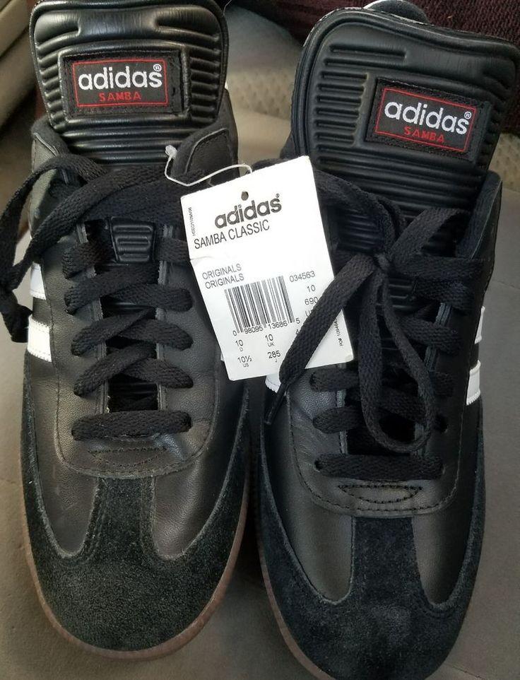 Men Adidas Samba Classic 034563 Black White 100% Authentic Brand New    Brand new    10.5 medium    Please inspect photos for more information     THANKS | eBay!