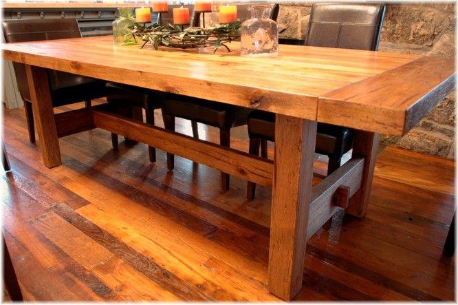 Handmade Wood Tables  Custom Designer Fabricator Builder Of Interesting Laminate Dining Room Tables 2018