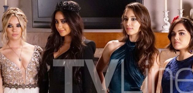 Pretty Little Liars 6x07 Prom The girls are dressed to kill Charles