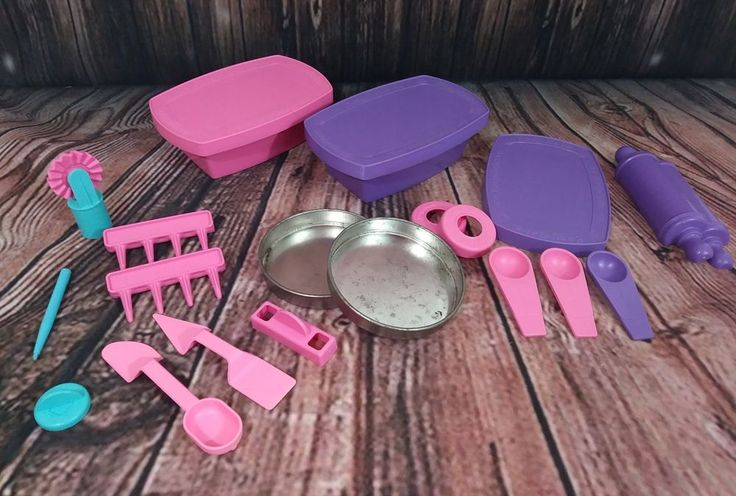 Easy bake Oven accessories purple pink #Hasbro