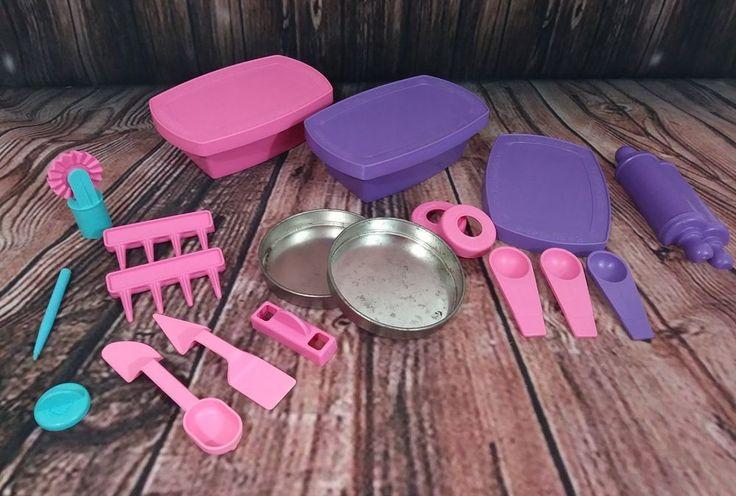 Easy bake Oven accessories purple pink #Hasbro
