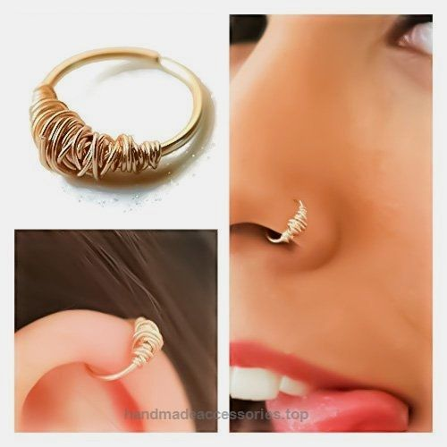 14k Yellow Gold Wire Wrapped Nose Ring Septum Ring Cartilage Hoop Earring 20g 18g 16g conch daith helix orbital snug rook pinna auricle scaffolding industrial tribal jewelry Check It Out Now     $21.50    Crafted in 14k gold and hallmarked accordingly each hoop is made by hand. they are measured with a digital caliper to ..  http://www.handmadeaccessories.top/2017/03/20/14k-yellow-gold-wire-wrapped-nose-ring-septum-ring-cartilage-hoop-earring-20g-18g-16g-conch-daith-helix-orbit..