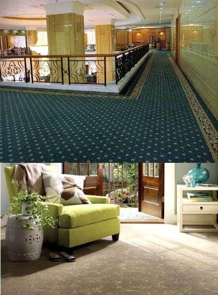 #FittedCarpet, also known as wall-to-wall #carpet or carpeting, is a carpet intended to cover a #floor entirely