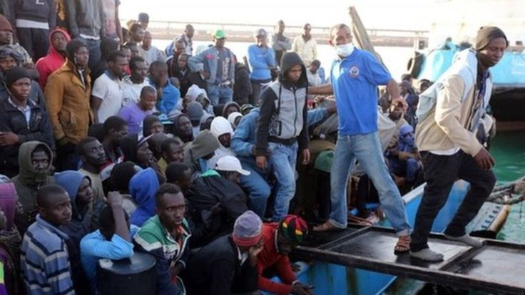 The European Commission will make the controversial proposal that EU member countries should take in refugees under a quota scheme.The UN estimates that 60,000 people have already tried to cross the Mediterranean this year.