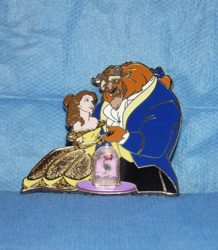 Disney Pin - Disney Store Europe - Beauty And The Beast - LE 800 Belle and Beast