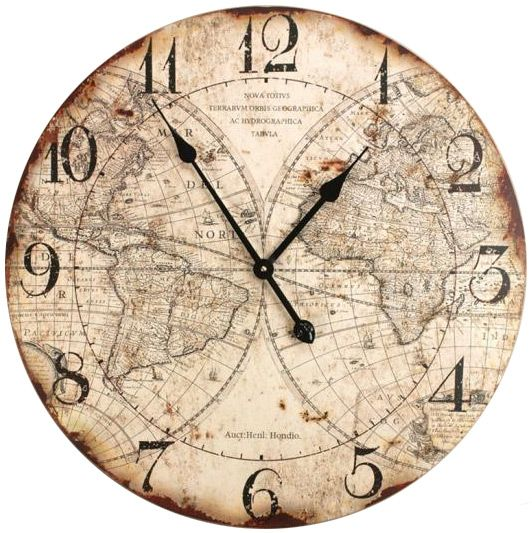 .Manual Woodworking, Vintage Clocks, Old World Maps, Wall Decor, World Maps Wall, Living Room, Maps Clocks, Wall Clocks, World Map Wall