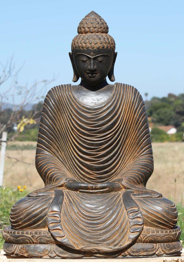 Sold Golden Japanese Meditating Buddha Hindu Ixxx Com 1
