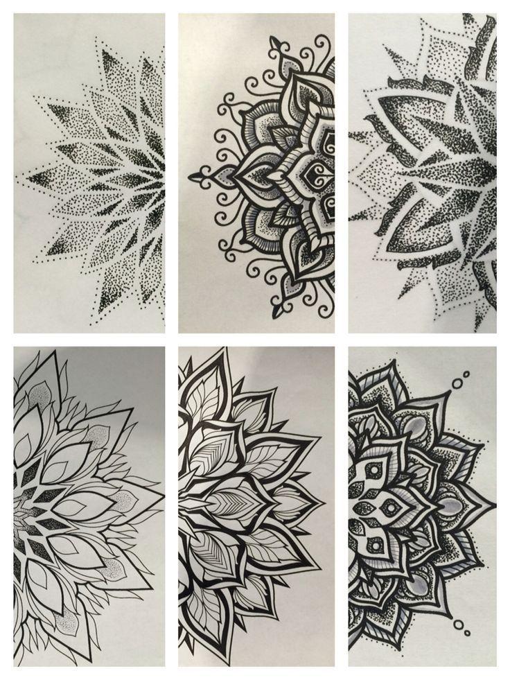 25 + › # Mandala Designs von #gordonlipari bei Metamorph Tattoo Studios Chicago #chicag …