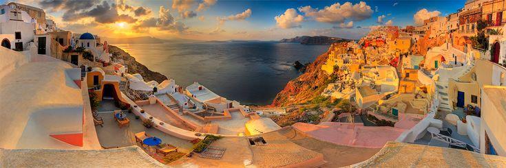 Greece: Santorini Greece, Urban Photography, Place I D, Greek Isles, Dream Vacations, Greek Islands, Wonder Place, Honeymoons Destinations, Golden Hour
