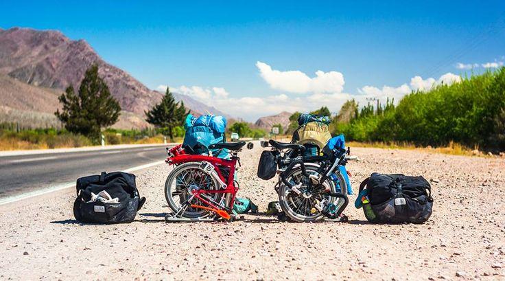 Anthony à Caroline: J 400, on l'a fait. Plie ton vélo, on rentre !  http://www.bromptonforum.net/t7190p40-le-tour-du-monde-en-400-jours-et-en-brompton