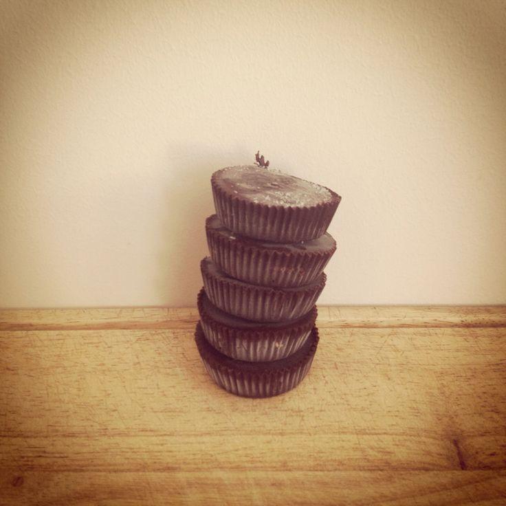 Homemade peanutbutter cups