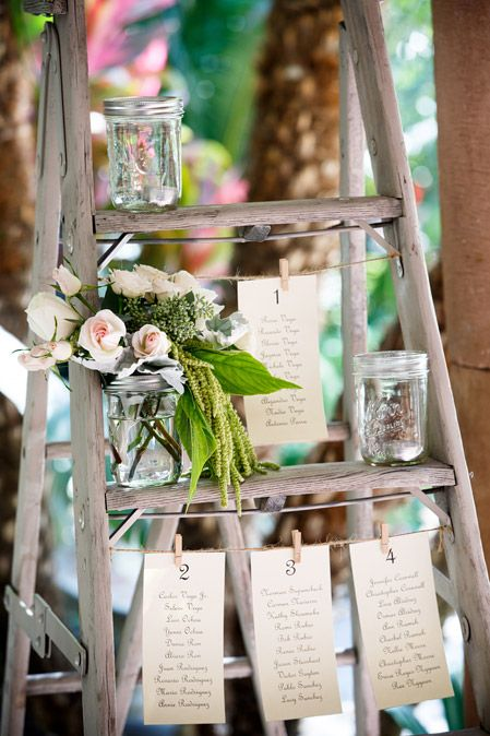 wedding seating chart ideas, rustic wedding seating chart, mason jars seating chart, wedding guests seat finder, villa del sol fullerton, reception details
