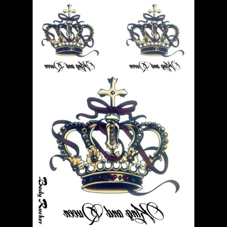 6-шт-лот-3d-большой-поддельные-вспышки-водонепроницаемый-временные-татуировки-колеса-малый-король-корона-буквы-татуировки.jpg (800×800)