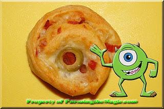 Mike Wazowski Pinwheels (Little Chef Disney Creations)