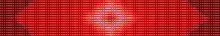 Red and Pink Gradient Seed Bead Loom Bracelet Pattern