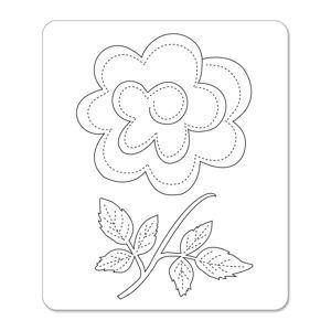 Sizzix Sizzlits Die - Flower, 3-D & Vine