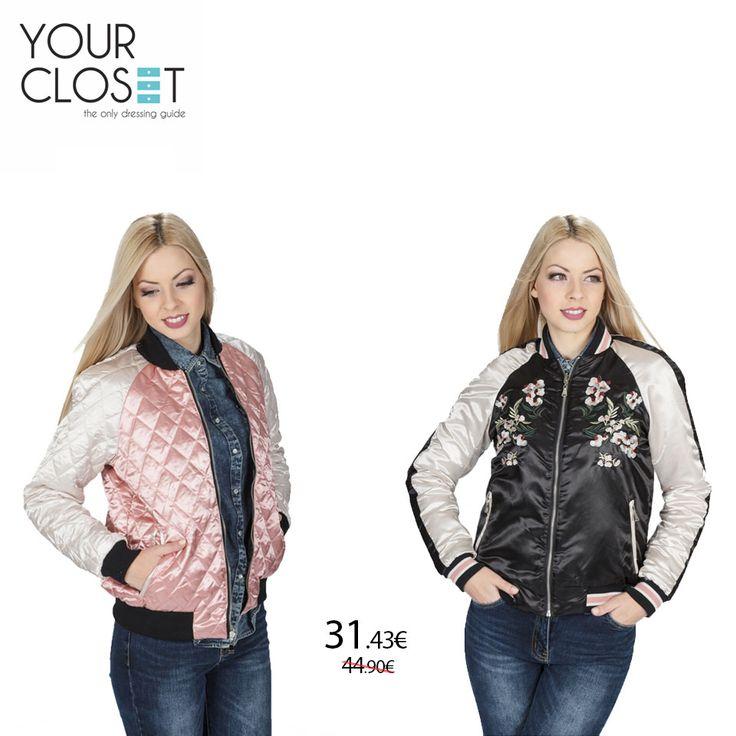 Μαύρο με λουλούδια ή ροζ καπιτονέ? Διάλεξε την πλευρά του μπουφάν που σου ταιριάζει! #Bomber #jacket διπλής όψεως 🔎: 1304 #fashionlover #eshop #fashionblogger #fashionista #fashionstyle #instafollow #like4like #jackets #floral #fashionaddict #fashionlover #fashion #style #clothes #fashionblog #lookoftheday #new #newcollection #womenswear #women