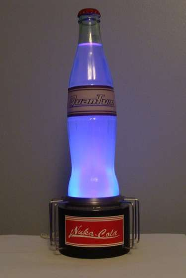 DIY Nuka-Cola - great for a end table light in a game room!