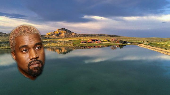 Did Kanye West Buy This Ranch Why It S The Last Property You D Want To Buy Kanye West Celebrity Real Estate Kanye