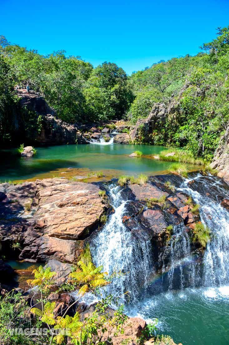 Macaquinhos Complexo De Cachoeiras Na Chapada Dos Veadeiros
