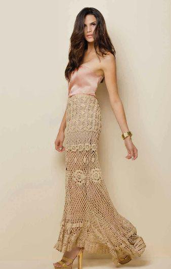 Beautiful Crochet skirt ║ #fashion #style