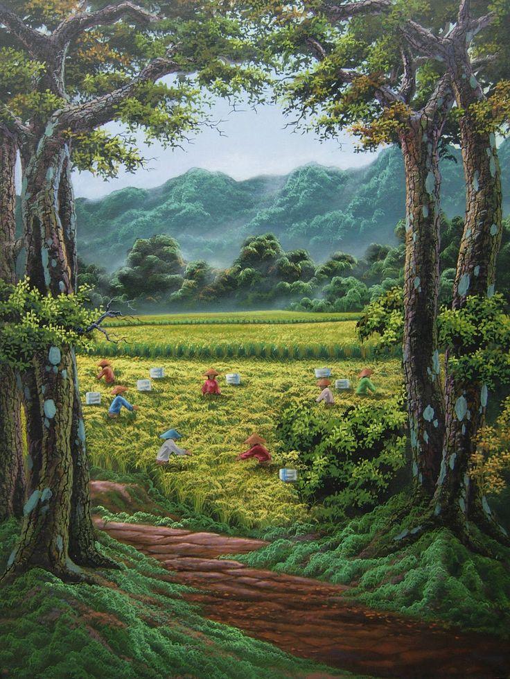 Panen di Ujung Desa
