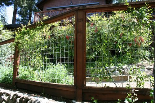 hog panel fence how to build