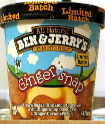 @Jessica Hill - Ginger Snap ice cream for your birthday.
