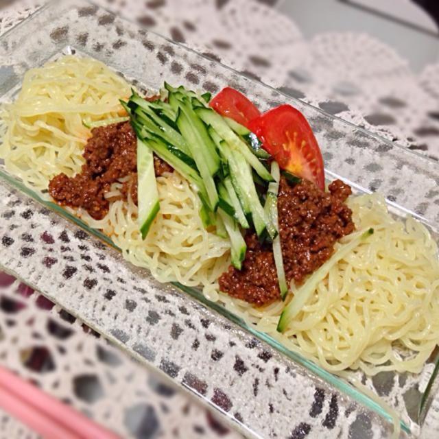 肉味噌は、中華風の味付け、お手製♡ - 8件のもぐもぐ - ジャージャー麺 by chibidom