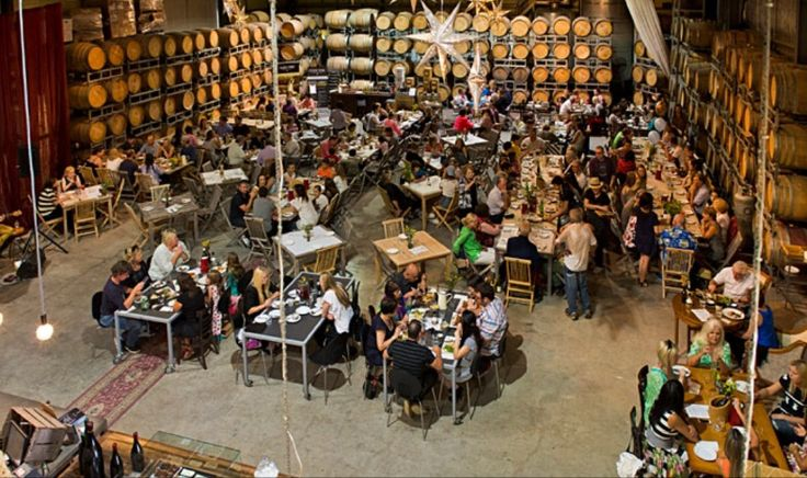 Our bustling bistro!! What a fantastic day @ Clyde Park