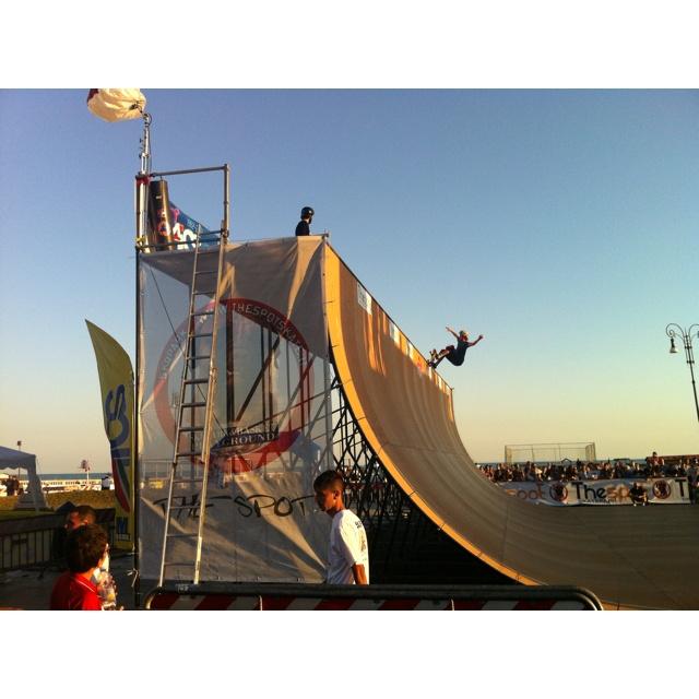Pontile di Ostia WCS World Cup Skateboarding 2012