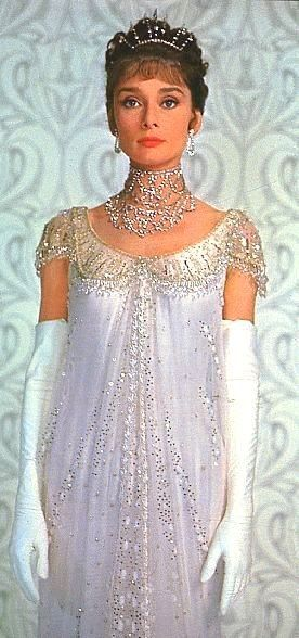 My wedding dress! Sans gloves and tiara of course